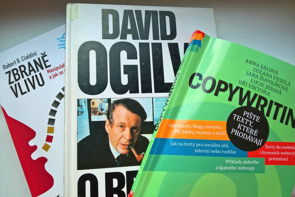 Knihy o copywritingu