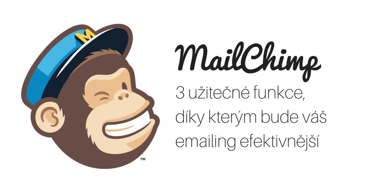 3 užitečné funkce, díky kterým bude váš emailing efektivnější